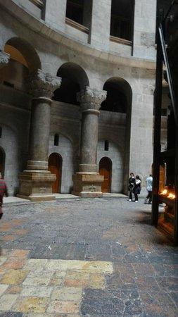 Église du Saint-Sépulcre (Jérusalem) : ротонда Храма Гроба Господня