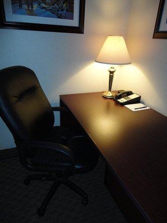BEST WESTERN Laval-Montreal : Large Work Desk