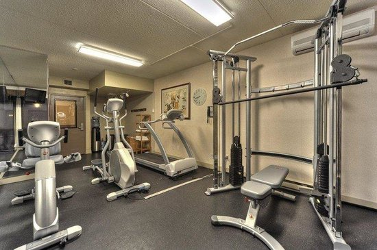Best Western Laval-Montreal : Fitness Facility