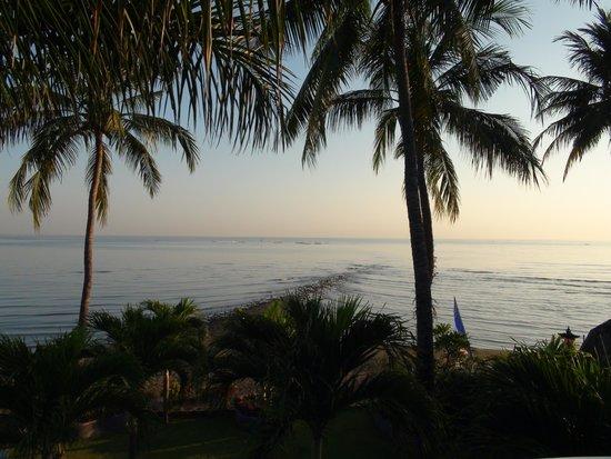 Dolphin Beach Bali: Sicht vom Hotelzimmer