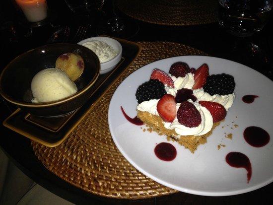 Buddha Bar: Delicious desserts, especially the cheesecake