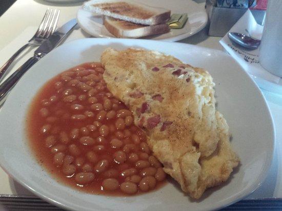 Taste of Italy: Breakfast omelette with side of baked beans