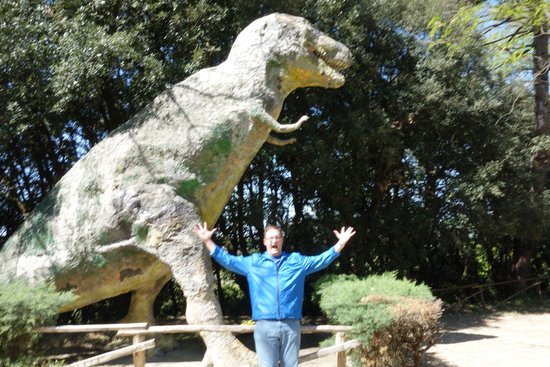 Parco Preistorico: T-Rex in Tuscany