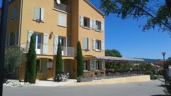Cereste, France: Accueil de la residence