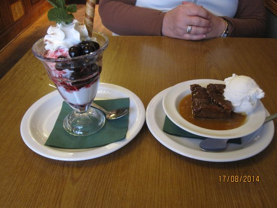 The McKirdy's Steakhouse: Good Desserts!