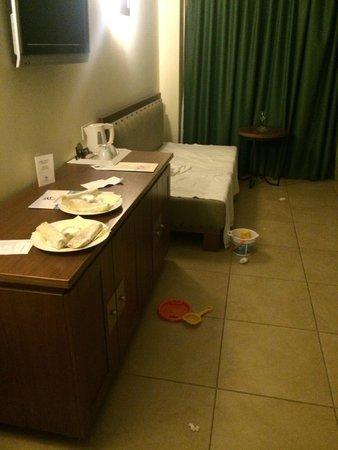Cavo Spada Luxury Resort & Spa : Rommet vi fikk da vi ankom
