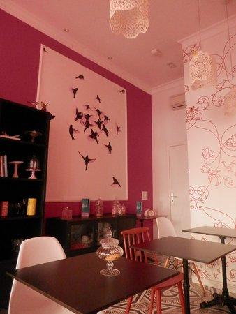 Hotel Mademoiselle: salon commun