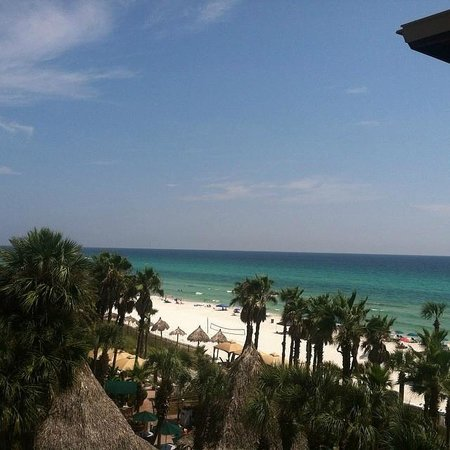Holiday Inn Resort Panama City Beach: Balcony view from side room, 4th fllor