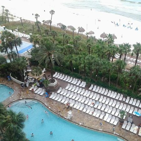 Holiday Inn Resort Panama City Beach: Balcony view from center, 8th flor