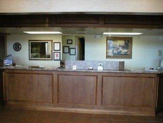 Knights Inn Kingman AZ: Front Desk