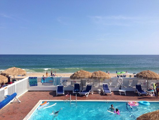 Ocean Surf Resort: View from our balcony.