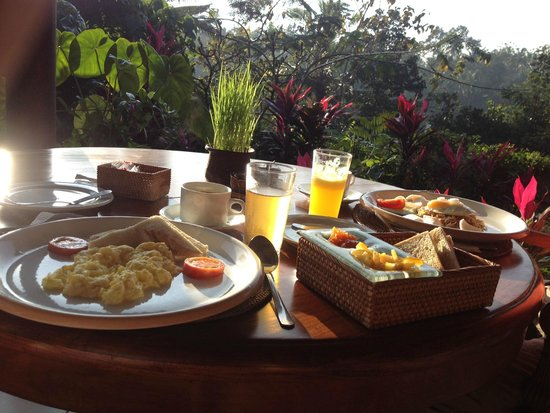 Alam Sari: You have the option of Indonesian or American Breakfast