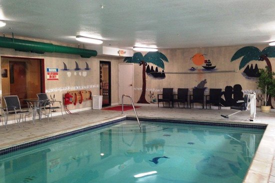Red Roof Inn & Suites Detroit - Lincoln Park: Pool