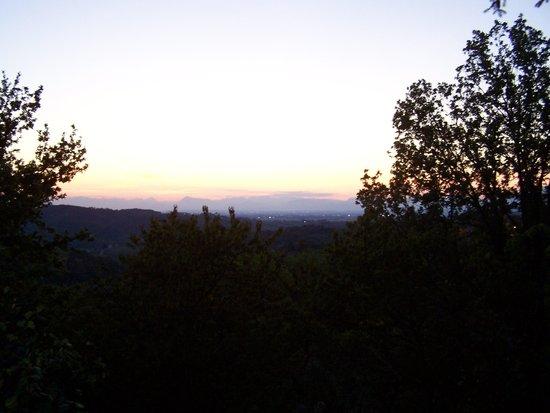 Sgubin: vista dal locale