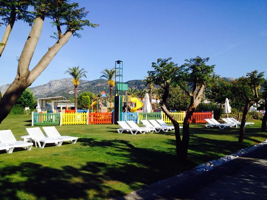 Holiday Village Turkey Hotel: Playground for young children