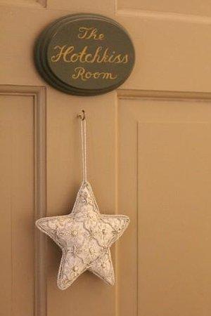 1795 Acorn Inn Bed and Breakfast: Welcoming room door.