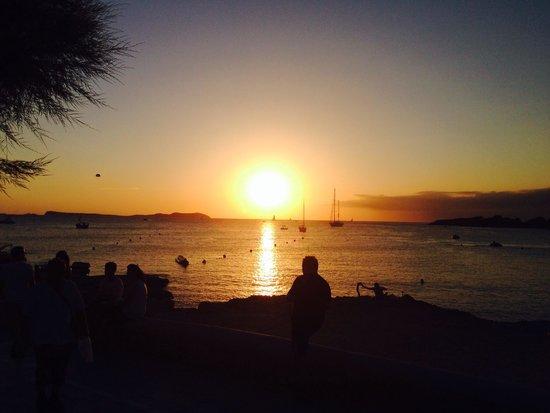 Fiesta Hotel Tanit : Stunning sunset