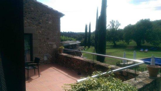 Arcs De Monells: Vue depuis la terrasse du 1er étage