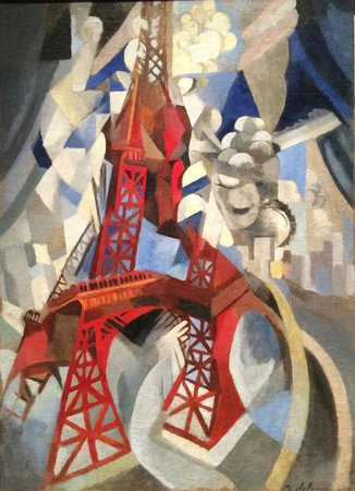 Los Angeles County Museum of Art: German Expressionism, La Tour rouge