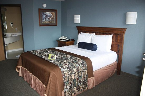 Rodeway Inn and Suites: Gardiner Travelodge Newly remodeled room