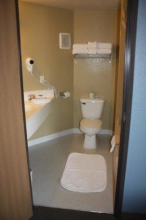 Rodeway Inn and Suites : Gardiner Travelodge  bath