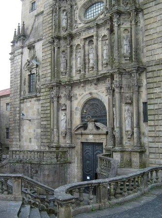 Monasterio de San Martín Pinario: Fachada de la Iglesia de San Martín Pinario