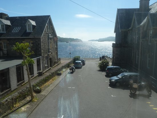 Oban Youth Hostel: View from room in annex