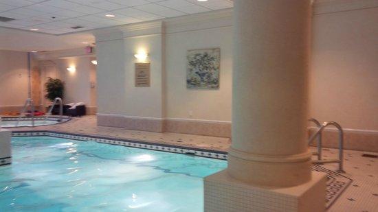 The Fairmont Palliser: Pool area