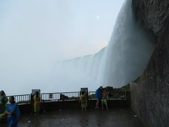 Journey Behind the Falls: observation deck