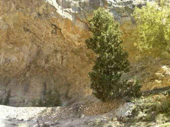 Samaria Gorge National Park: Ένα σημείο στη μέση του φαραγγιού!