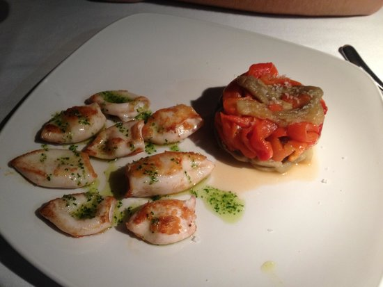 Zian Restaurant and Pizzeria : The calamari appetizer