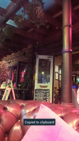 The Lodge Tavern: the outside area