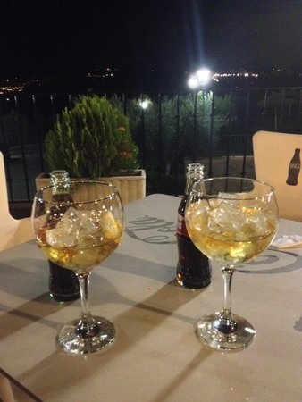 Hotel Abaceria: Drinks on the terrace