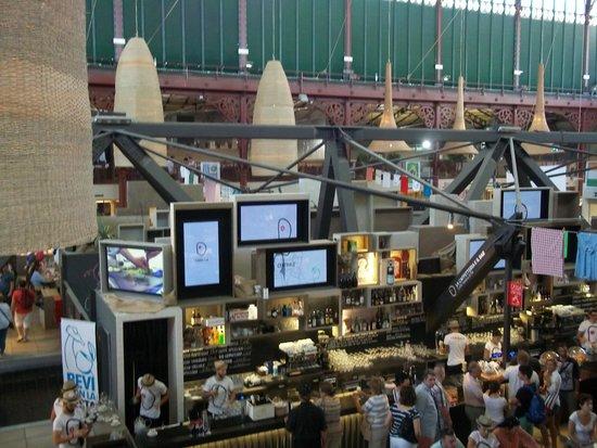 Mercato Centrale: Planta alta del Mercado