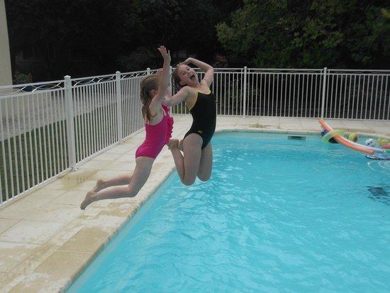 Le Logis des Oiseaux : The pool