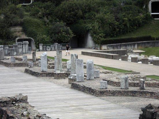 Théâtres Romains de Fourvière : le théâtre romain.