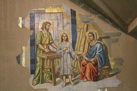 Santuario Madonna delle Lacrime : Fresque