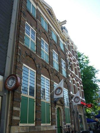 Musée de la maison de Rembrandt : la fachada de la casa-museo