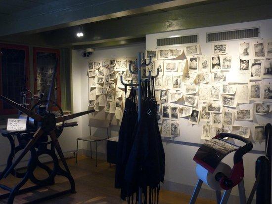 Musée de la maison de Rembrandt : se exponen los trabajos de los talleres que se dan actualmente