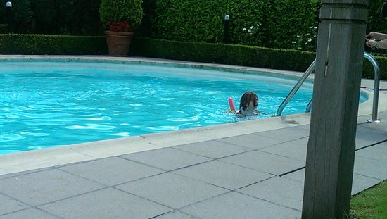 Novotel Brugge Centrum: The pool