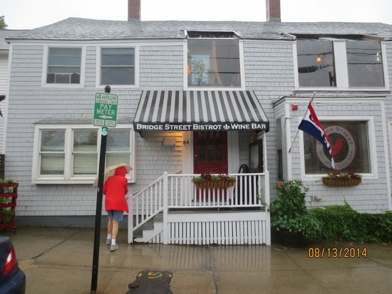 Bridge Street Bistrot & Wine Bar: entrandce