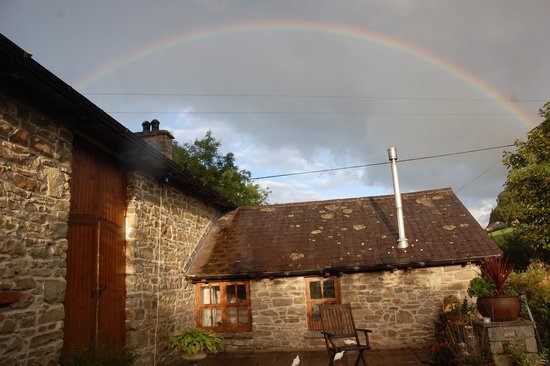 The Old Mill Soar: Old Mill under the rainbow