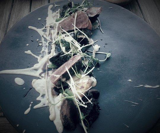 Equus Restaurant at Cavalli Stud and Wine Farm: Venison....mmmm