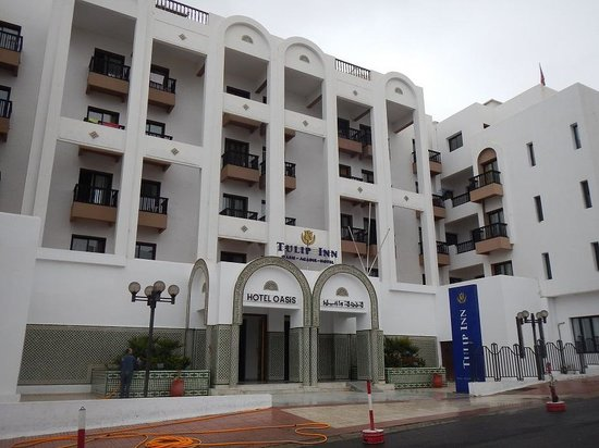 Oasis Hotel Agadir: Front view