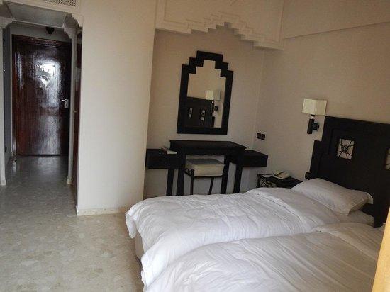 Oasis Hotel Agadir : Room 302 with bathroom, no fridge