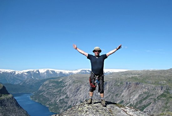 Trolltunga: Me on the top of the world