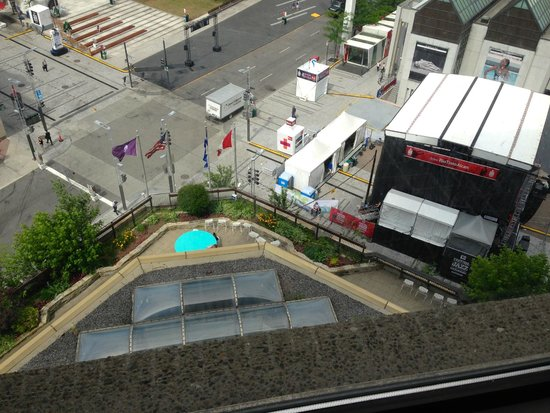 Place des Arts: View from Hyatt