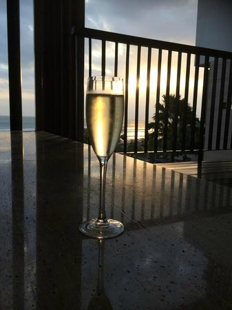 Anantara Seminyak Bali Resort: View from Jacuzzi
