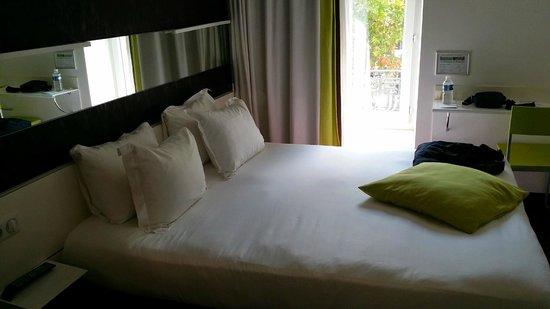 Best Western Hotel Le Montparnasse : panoramica della stanza