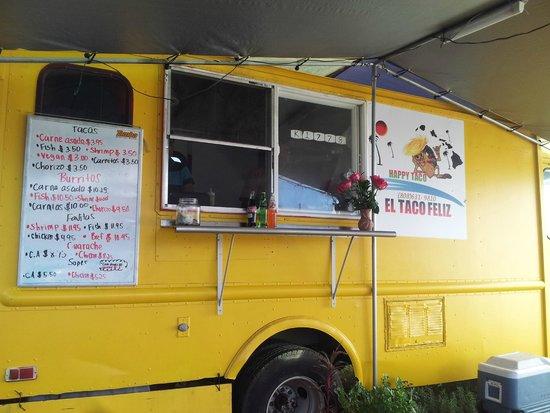 Happy Taco - El Taco Feliz : taco truck